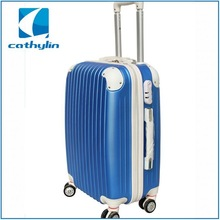ABS Aluminium Trolley Travel Luggage and luggage polo case