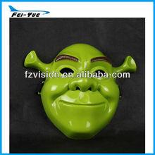 PVC Green Shreck Mask Party halloween mask english movies mask