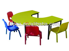 U shape Classroom Kids Furntiure/Kid Study Desk and Chair/Classroom Desk