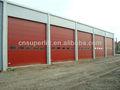 Cor de aço overhead seccionais industriais porta/armazém seccionais industriais porta