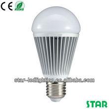 CE and RoHS lextar chip 5w/6w/7w/9w/12w fine led bulb light