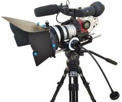 Proaim DSLR KIT-9 V1 Follow Focus + Matte box Mattebox Sunshade Kit for canon 5D 7D,D90, 60D Rebel T2I Panasonic GH2 photography