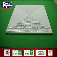 perforated false metal ceiling tiles tin
