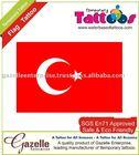 Temporary Tattoos - Turkey Flag Tattoo - 0507121156
