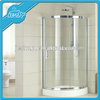 Tempered Glass Sliding plastic folding shower doors