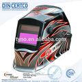 Ce en379 en175 personalizado filtro de soldadura del protector de la cara máscara de soldador fabricante de automóviles de china de oscurecimiento casco de soldadura/máscara