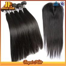 JP Hair Yongest Girls' Hair Brazilian Human Hair Sew In Weave