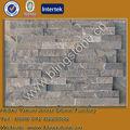 Pedra Natural cinza stacked ledgestone slate