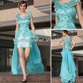 dorisqueen moq 1 pc atacado sequined bainha longa azul applique vestido de baile