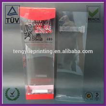 acetate transparent box /printing box plastic box