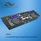 Factory supply Profesional DJ USB MP3 Player/Mixer/USB Sound Card
