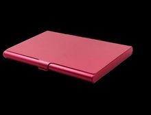 Fashion Colorful aluminum business card holder suitcase card holder