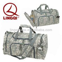 Vintage Military Camo Sports Bag