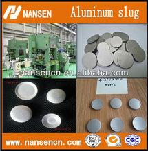 aluminum alloy slug sheet circle alloy 1070 making for aerosol can domed