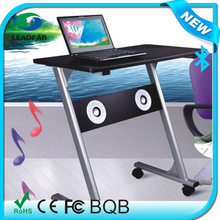 2014 cheap and high quality laptop table with speaker