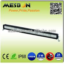 30inch 252W led offroad light bar reflector