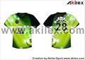 New Design Custom sublimação camisa do futebol / futebol uniforme com nenhum MOQ