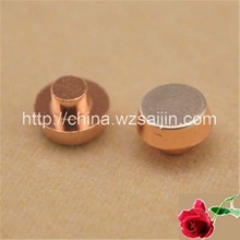 usato per 6 pin interruttore di pulsante argento rame contatti elettrici bimetallico rivetto