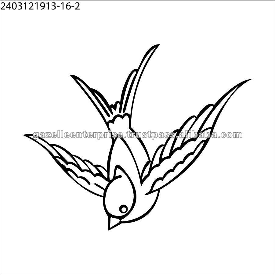Татуировки наклейки птица татуировка