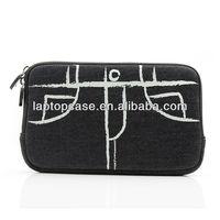 silk print jean tablet case
