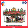 18 seats Carousel horses amusement equipment merry go round