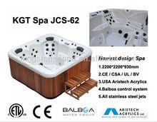 Wellness Piscina spa JCS-62 showed in Lyon Piscine Global