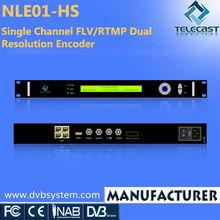 Single Channel HD IPTV Encoder FLV/RTMP MPEG4