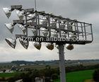 High mast sports lighting