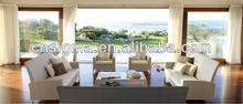 Top Sale!! 2014 Home furniture White Rattan miami rattan furniture