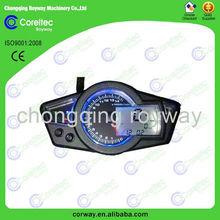 12V digital display LCD motorcycle universal speedometer