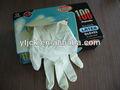 examen de látex guantes
