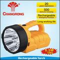 12 V mais poderoso levou lanterna recarregável