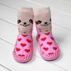 2014 fashion animal designs anti slip baby boot socks of zhuji