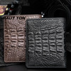 2014 new products luxury Genuine Crocodile skin wallet for men
