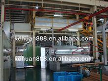 Double S type spunbond nonwoven interlining manufacturing machine