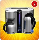 breakfast maker coffee maker toaster water kettle 3 in 1