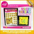 hilo de magia con la artesanía de la plantilla de eva para niños