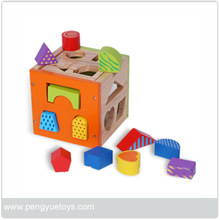 children games,Colorful Shapes Case,wooden block toys PY1180