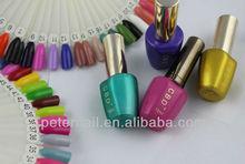 Fashion salon nail polish nail art flavored nail polish