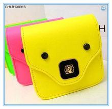 2014 MINI PIG Fluorescent color Inclined shoulder bag / camera bag