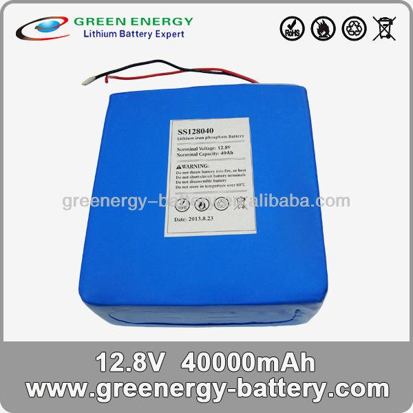 lifepo4 12v 40ah lithium battery