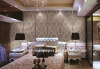 natural flower wallpaper/non-woven wallpaper/Tapetas wall covering for boat interiors naturliga vaxtfibrer tapet