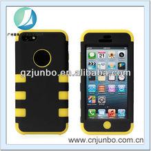 Cross Stripe Rugged Hard Case for iPhone 5C