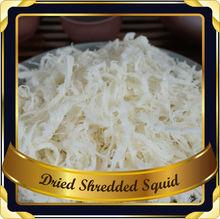 SEASONED DRIED SQUID SHRED