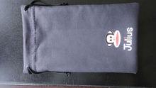 light microfiber pouch black color