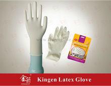 latex examination glove in health & medical