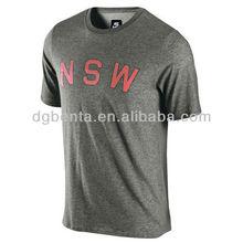 mens round neck t shirts gym t shirt