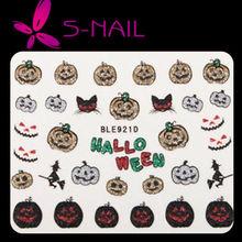 new halloween nail stickers, easy DIY nail art,halloween easy