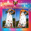 Angela-1003 best selling summer maxi dress