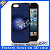 Unique 3D mobile case for iphone 5, case with 3D layers